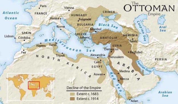 Hình Đế chế Ottoman