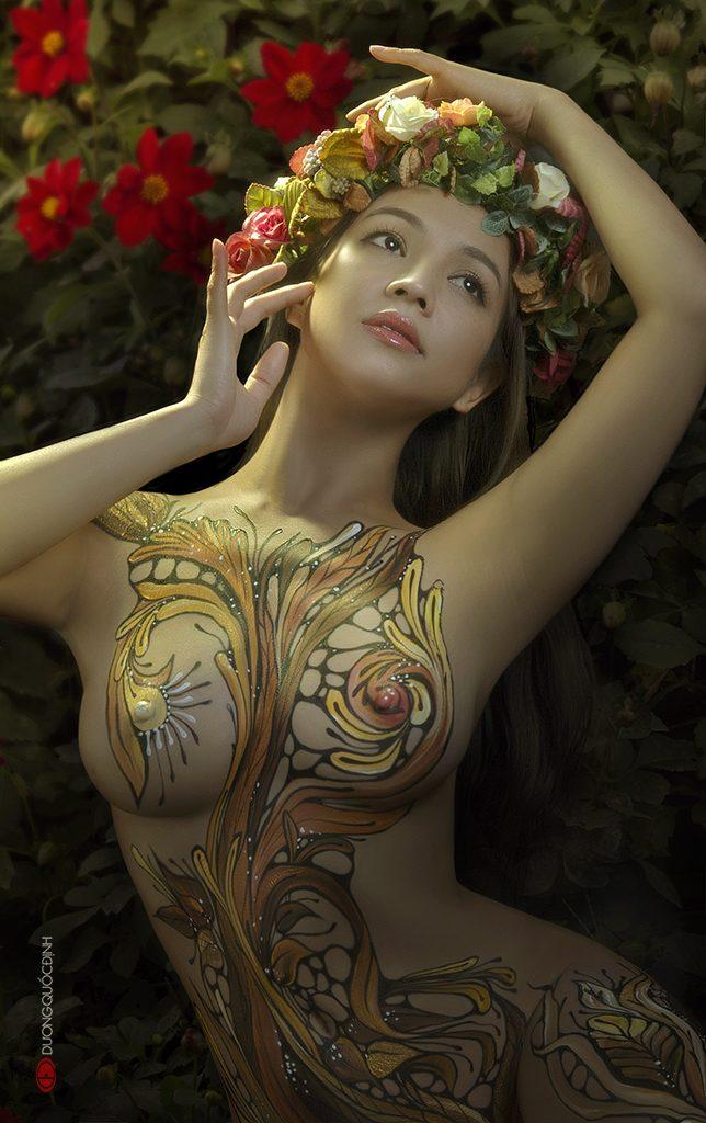 Top 2/10 Body Painting Art | Dương Quốc Định