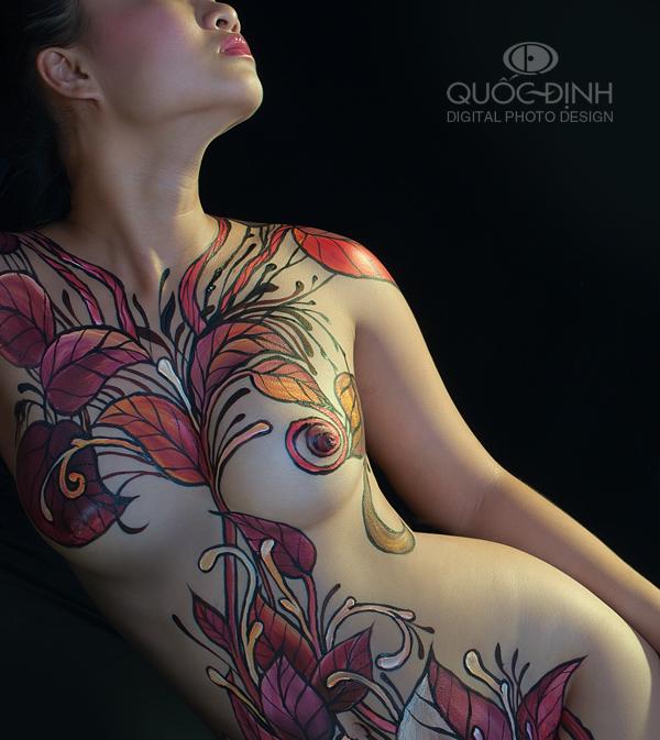 Top 9/10 Body Painting Art | Dương Quốc Định