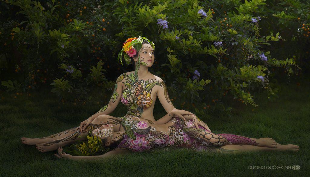 Top 7/10 Body Painting Art | Dương Quốc Định