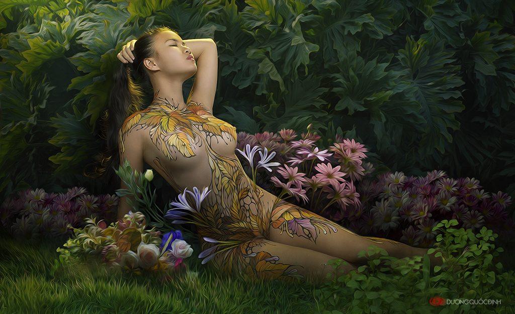 Top 6/10 Body Painting Art | Dương Quốc Định