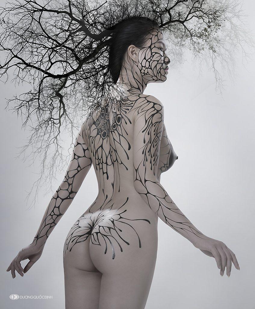 Top 4/10 Body Painting Art | Dương Quốc Định