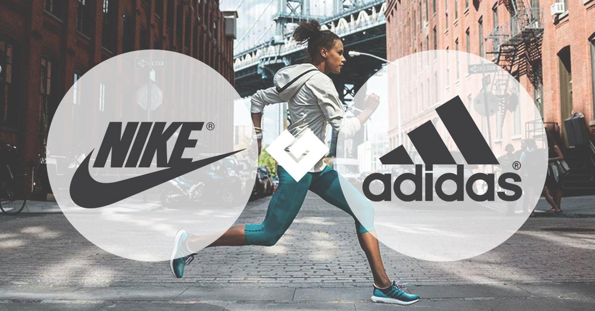 Hình Nike vs. Adidas