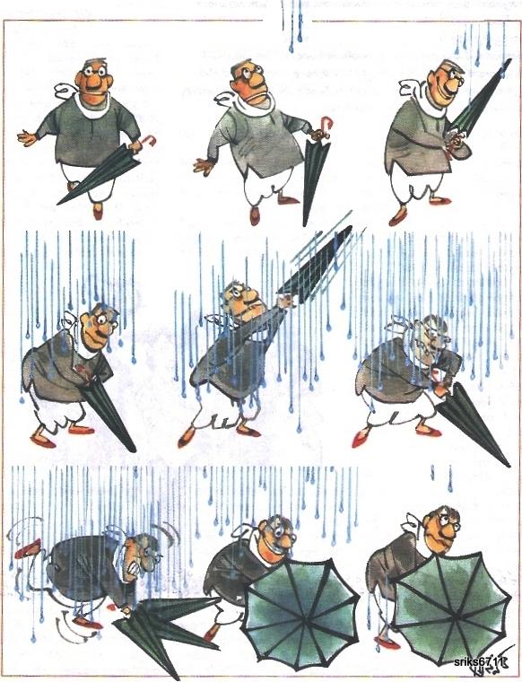 Hình Định luật Murphy với chuyện mang theo dù