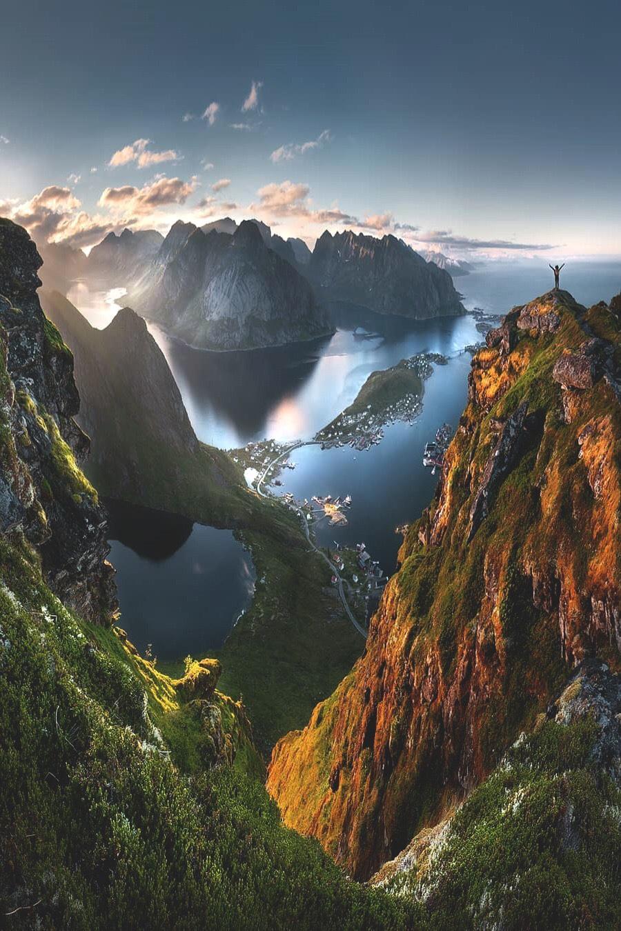 Quần đảo Lofoten, Na Uy. Ảnh Tomas Havel.