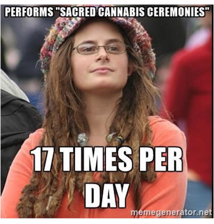 """""""Hành trì nghi lễ"""" cần sa – 17 lần một ngày"""