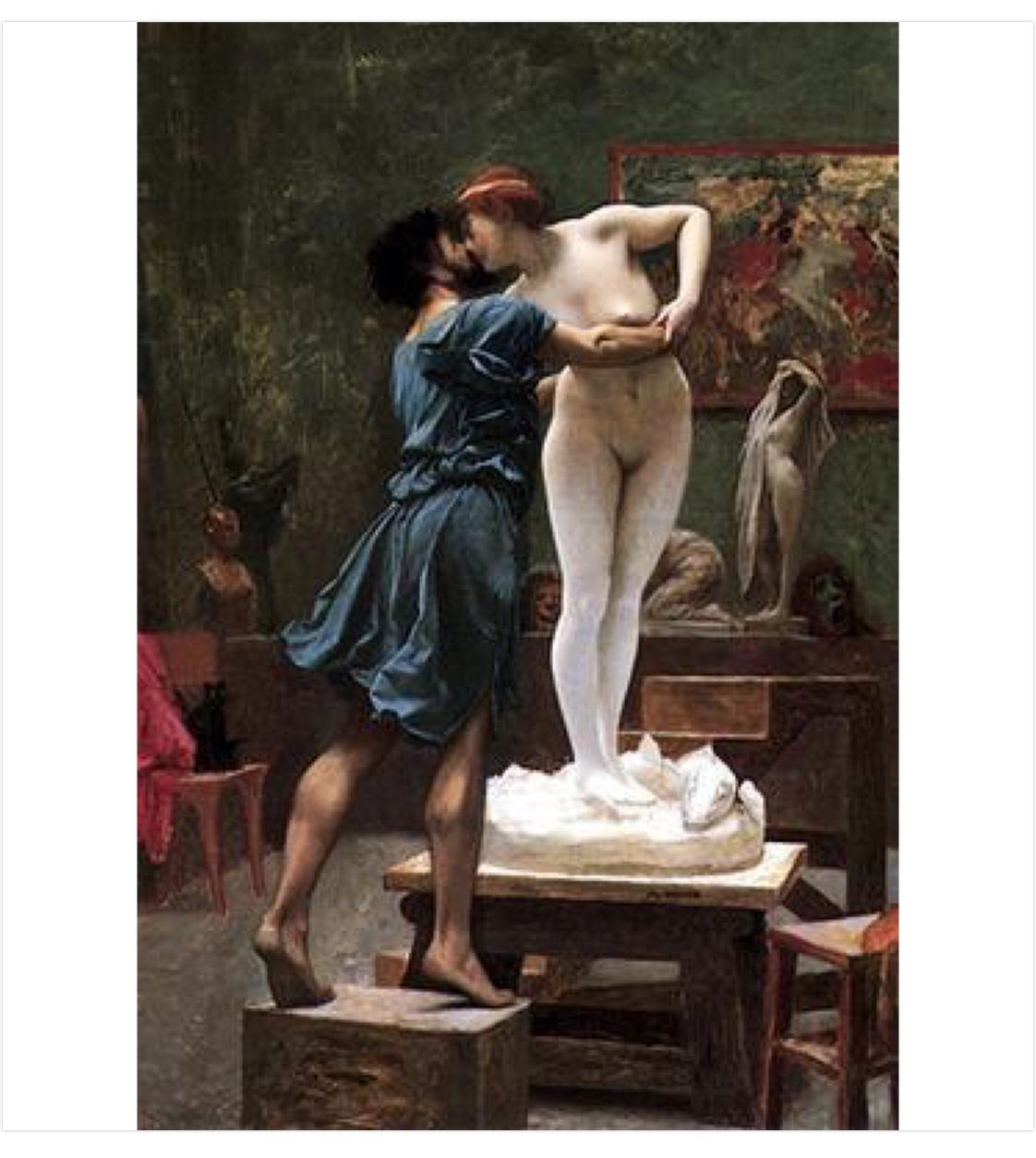 Pygmalion & Galatea
